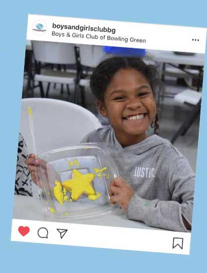 Boys and Girls Club of Bowling Green Instagram Post